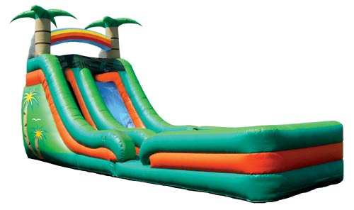 Super Splash Down Tropical Slide